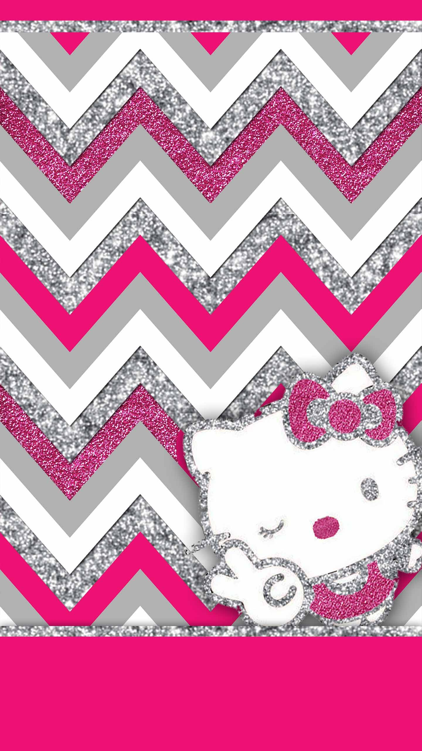 Free Pink And Silver Glitter Wallpaper Pack Including Minnie