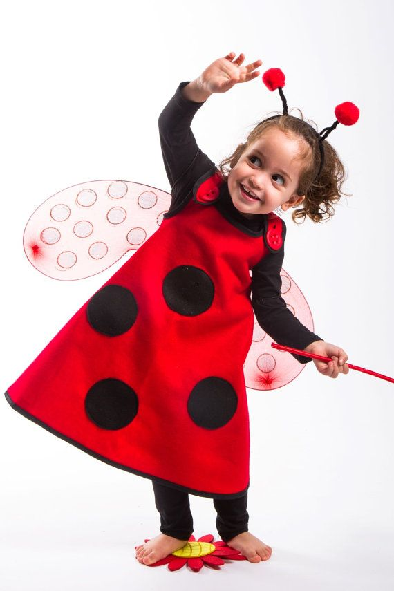 Ladybug Shell Halloween Costume Halloween Accessory for Infants and Toddlers Easy to Put on Halloween Outfit Costume Ladybug Costume