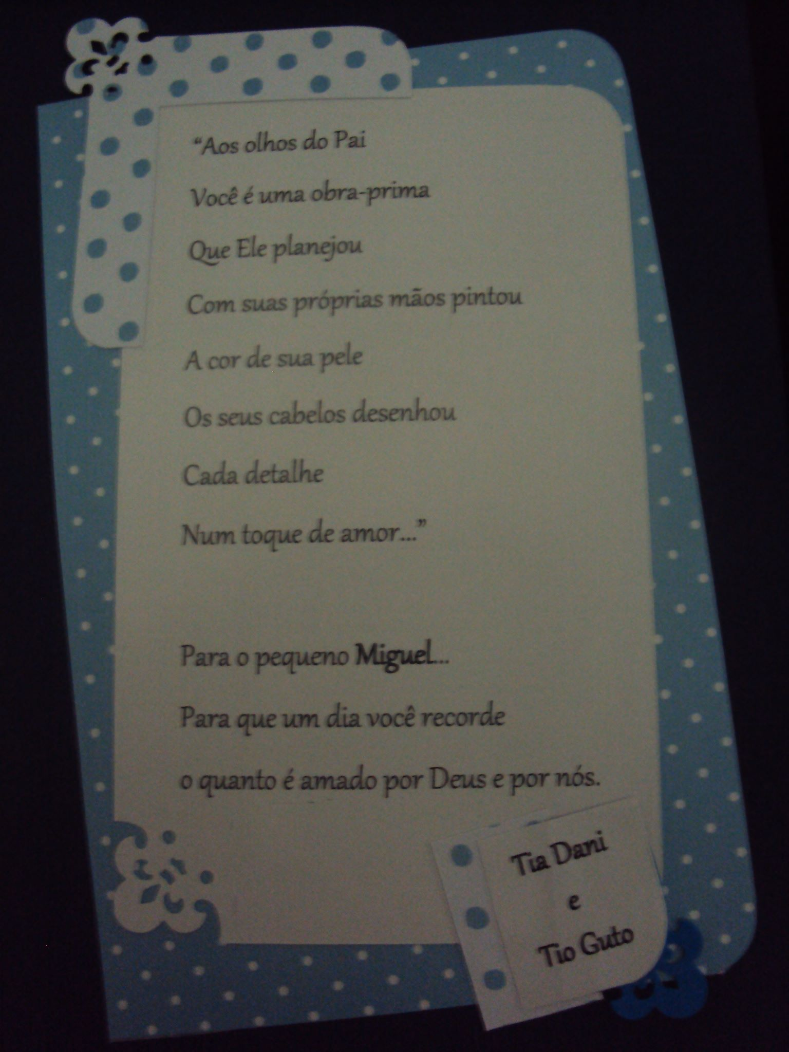 Memórias #1ano #miguelzinho <3