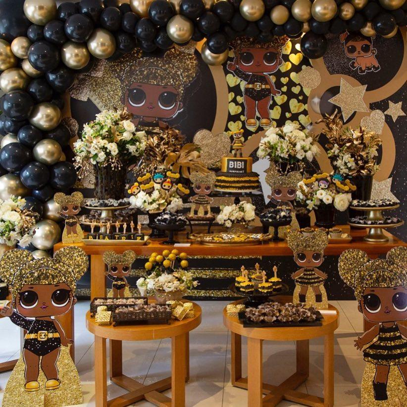 Lol Surprise Queen Bee Party Decorations Google Search Festa Aniversario Decoracao