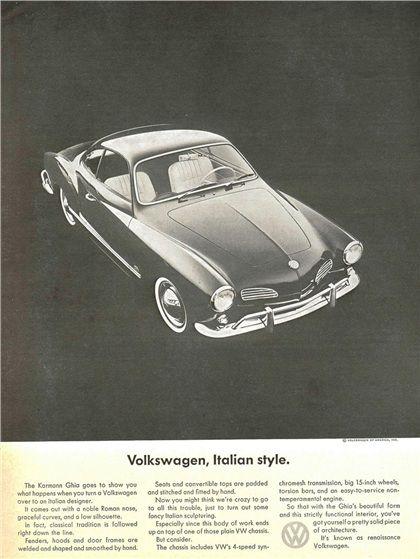 Volkswagen Karmann Ghia - Ad