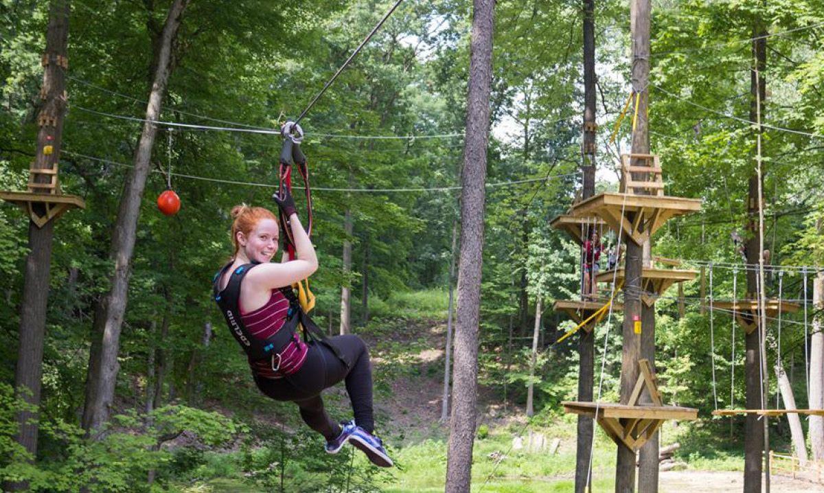 Treerunner Grand Rapids Adventure Park Zip Line Park Detroit And Ann Arbor Metro Parent Adventure Park Ziplining Grand Rapids