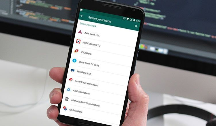 How to delete or change default whatsapp payment bank