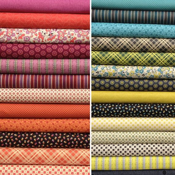 OMG I LOVE THIS FABRIC!!! (on sale)Denyse Schmidt Chicopee Entire ... : quilt fabric for sale - Adamdwight.com