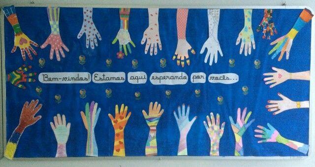 Mural De Boas Vindas Mural Do Miraflores Aula Escuela E Preescolar
