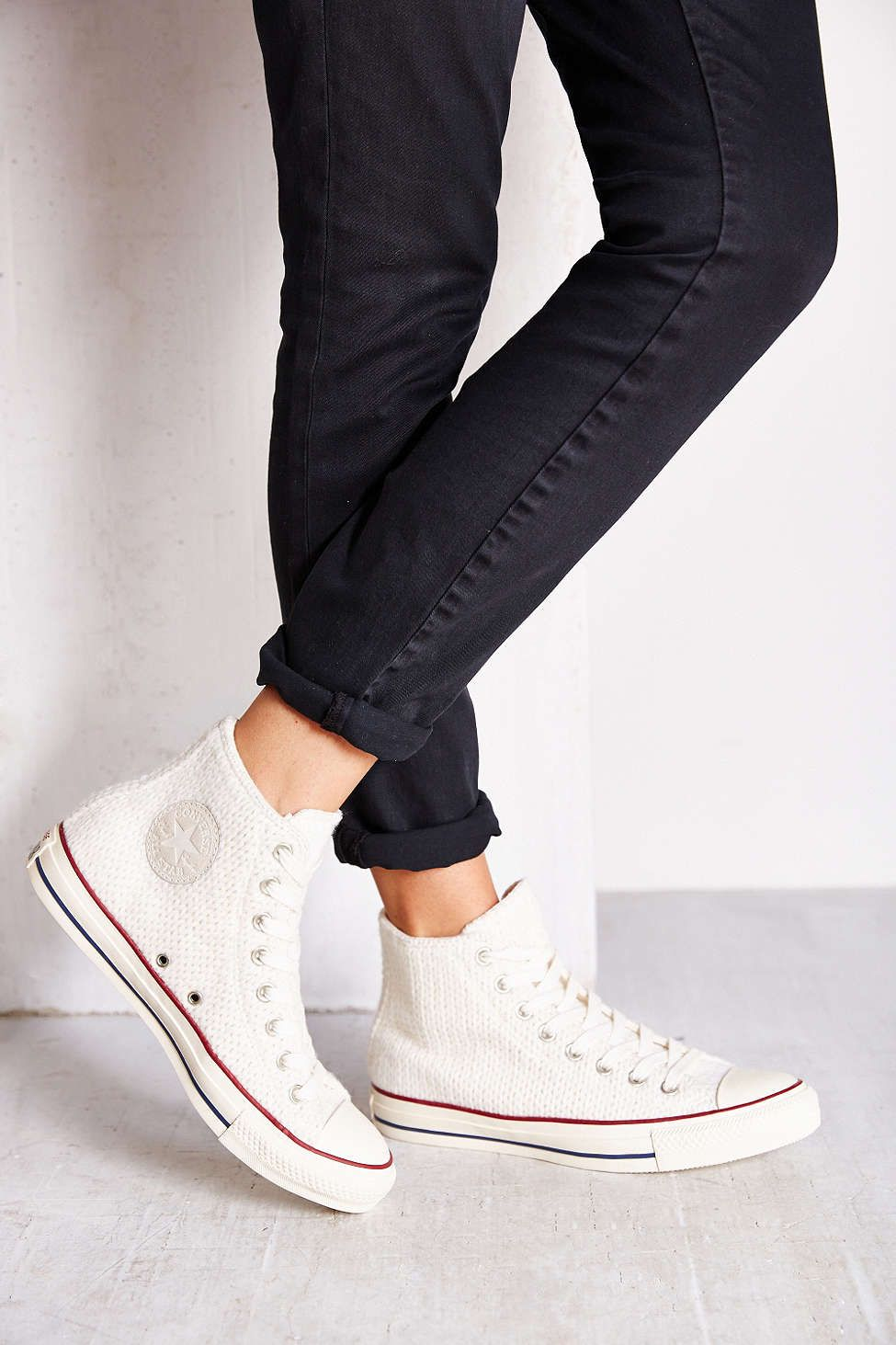 204d810c1d13 Converse Winter Knit High-Top Womens Sneaker - Urban Outfitters ...