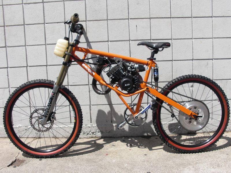 Homemade Motoped 2 Wheel Thrill Pinterest Homemade Mopeds