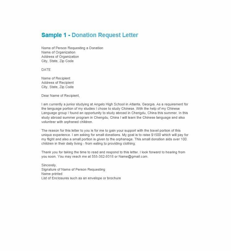 free donation request letters amp forms template lab letter - donation request letter