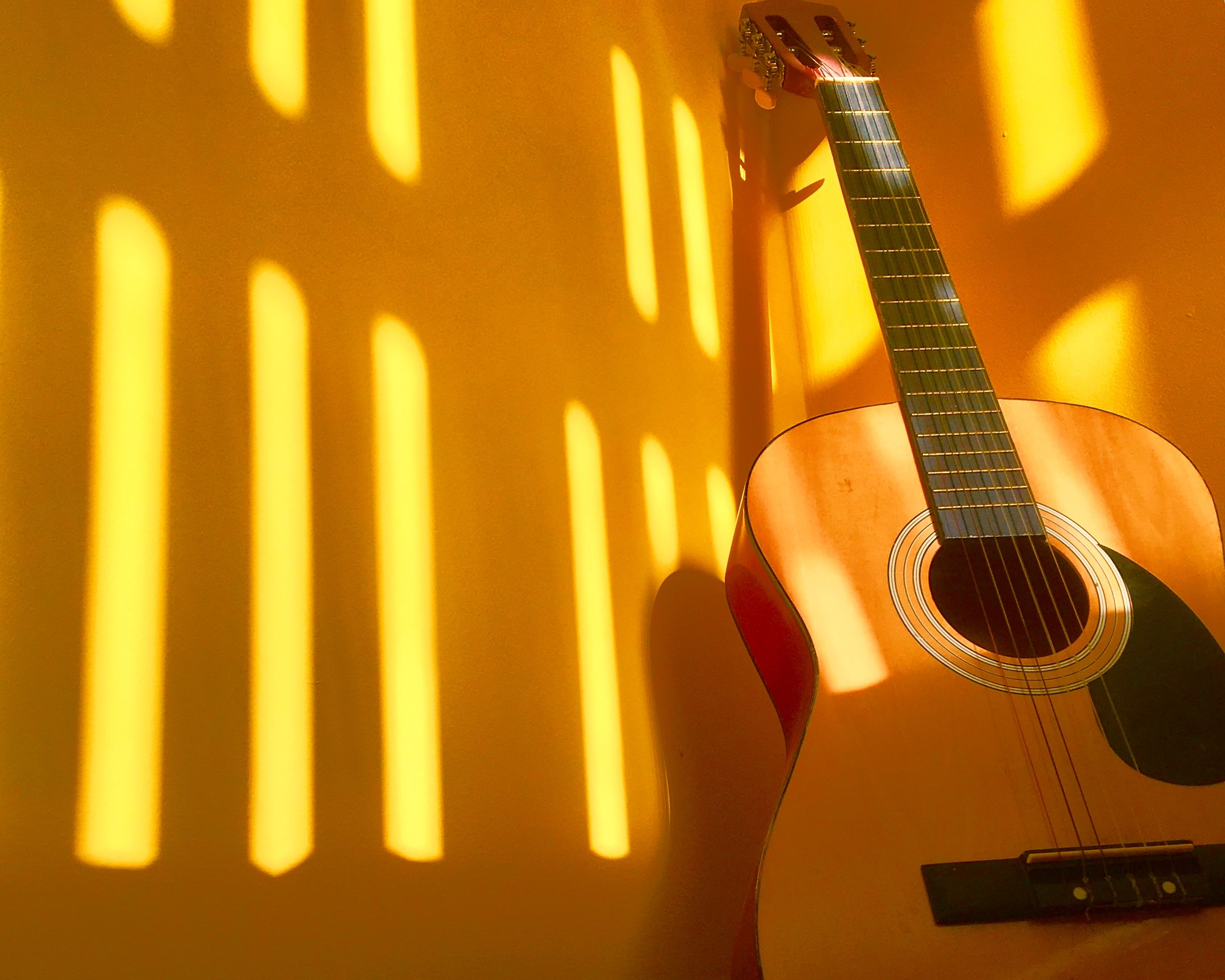 Yellow Guitar Aesthetic Yellow Photography Yellow Aesthetic Aesthetic Colors