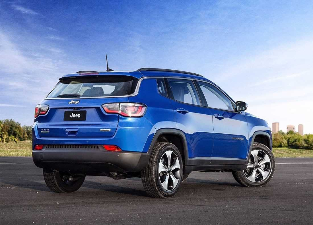 The new jeep compass 2018 2019 is the older brother of the jeep renegade