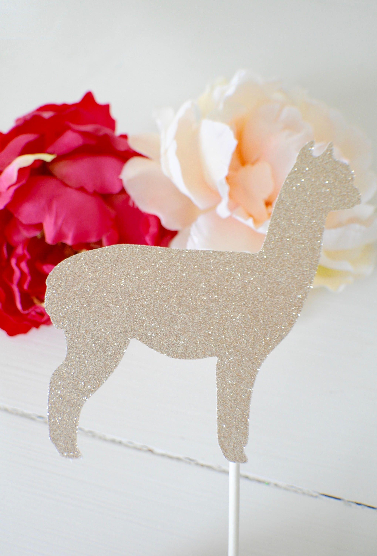Alpaca cake topper llama cake topper alpaca cake topper