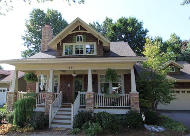 A Craftsman Bungalow Cottage I Did It All 3 Styles In: Craftsman Style House Plans