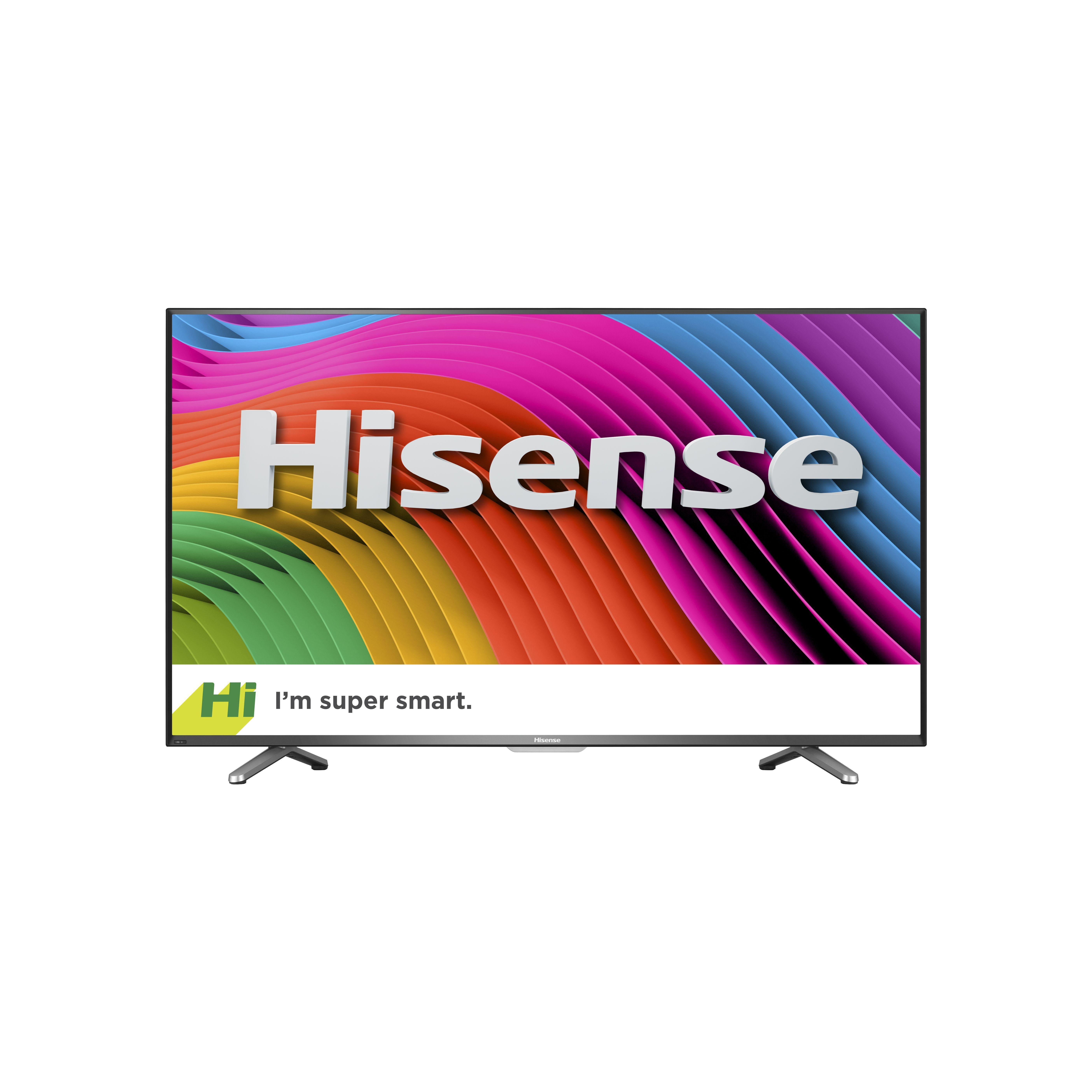 Hisense 43 4k ultra hd smart tv black with images