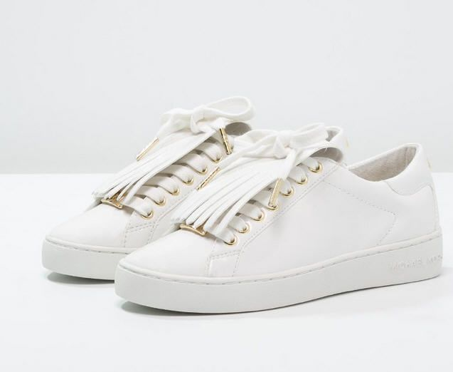 michael michael kors keaton kiltie baskets basses optic white prix baskets femme zalando 150 00