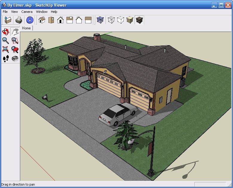 Sketch up google search architecture google sketchup for Casa moderna sketchup download