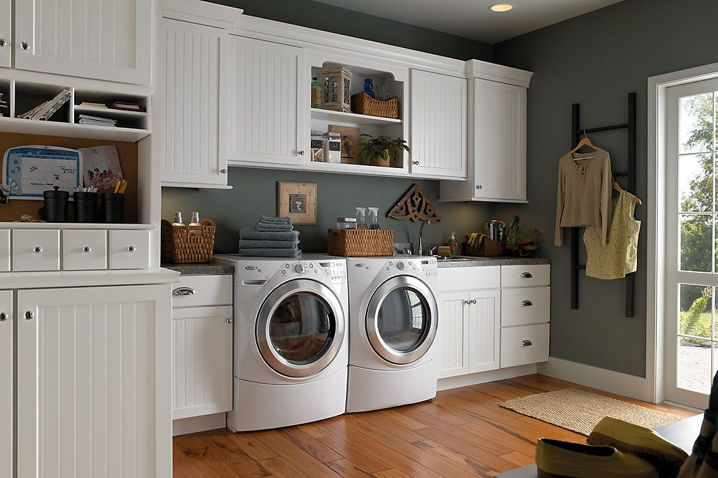Multi Functional Laundry Room Space | Medallion Cabinetry Http://www. Medallioncabinetry