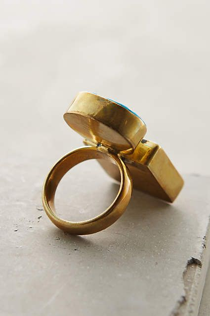 Standing Stones Ring - anthropologie.com