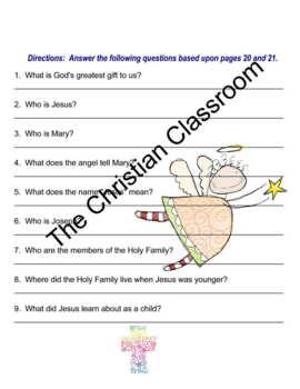 Sadlier S We Believe Grade 2 Chapter 1 Pages 20 And 21 Aligned Tasks Task 2nd Grade Teacher Newsletter