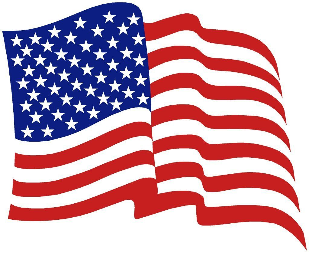 American flag kid. Clipart banner miscl