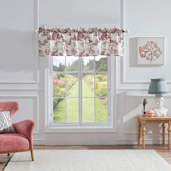 Greenland Home Classic Toile Window Valance Valance Home House