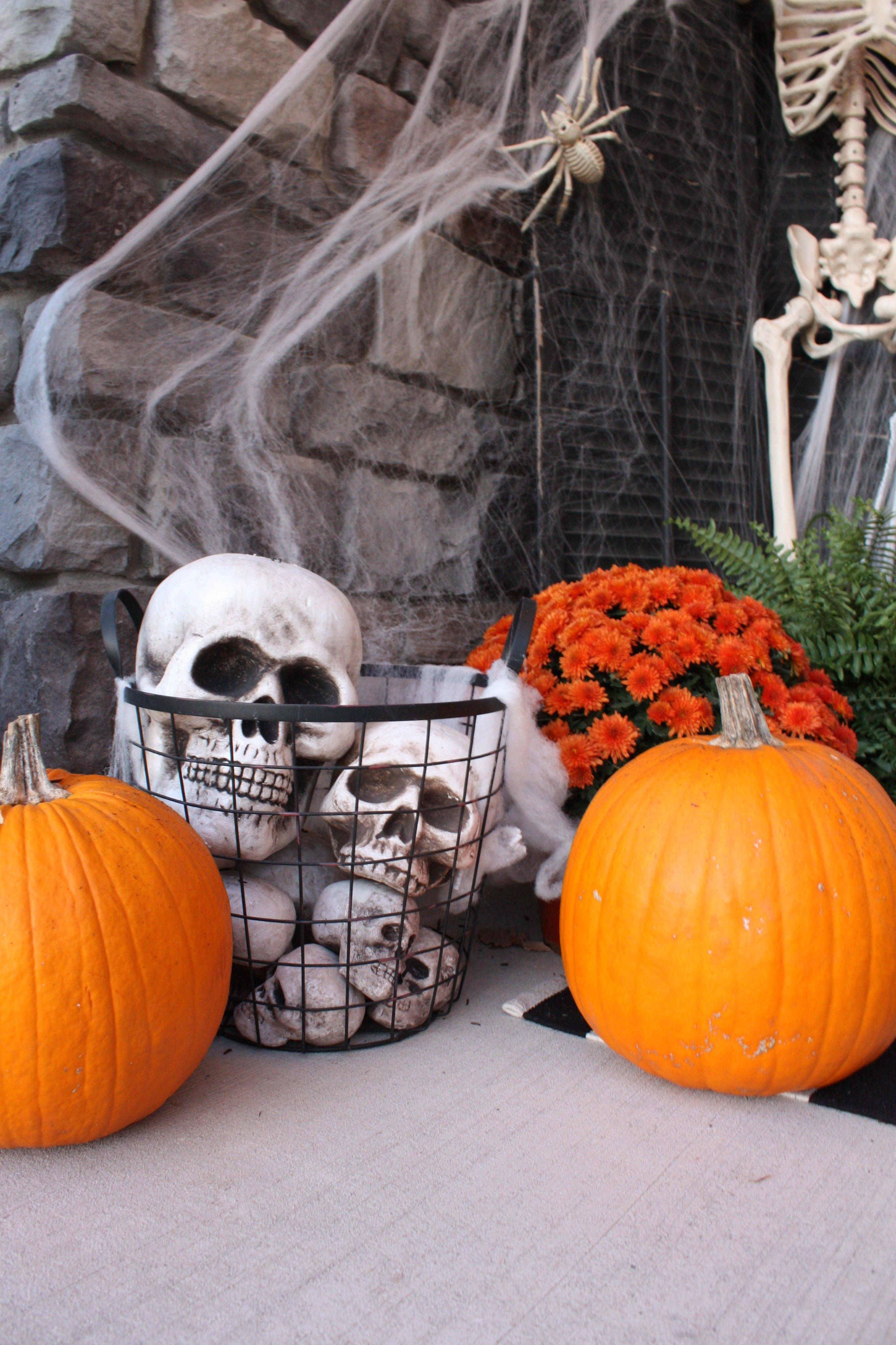 Halloween Front Porch Enter If You Dare Halloween porch