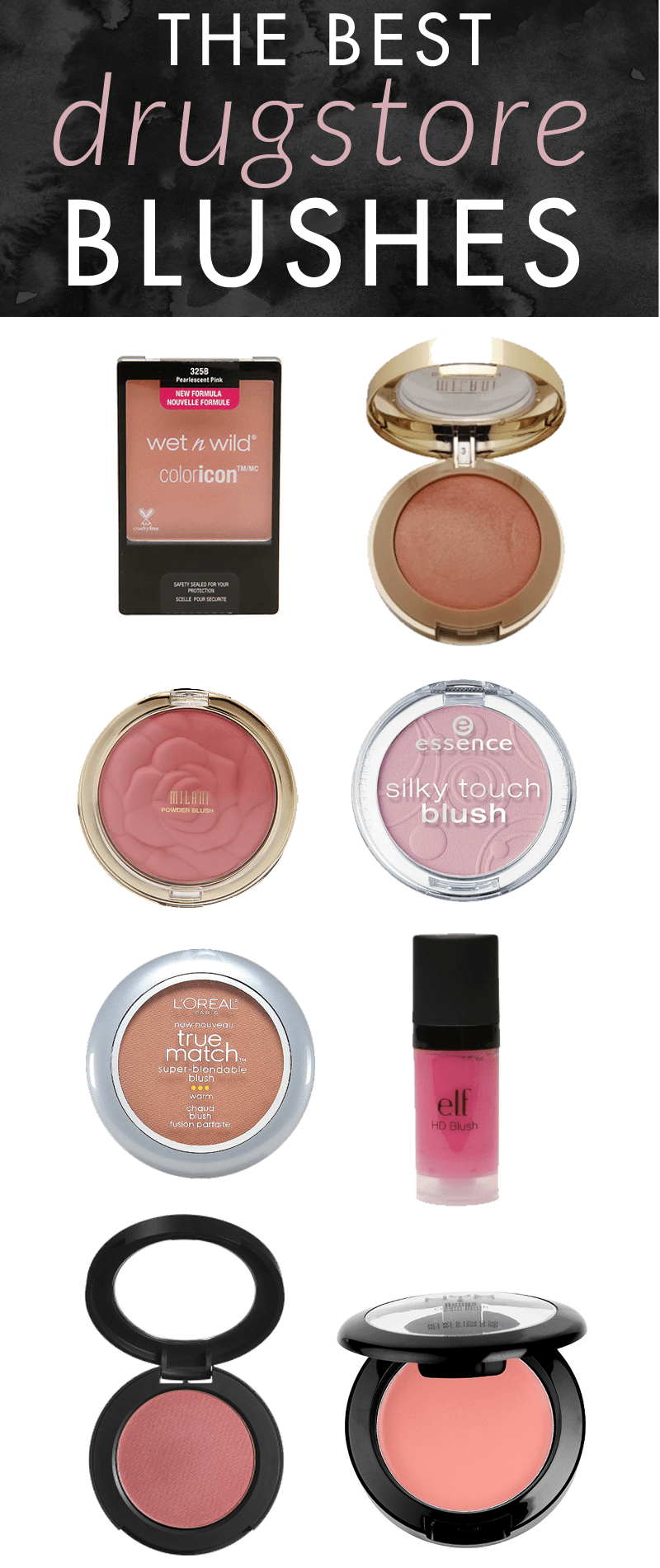 Drugstore Makeup Dupes: The Best Drugstore Blushes
