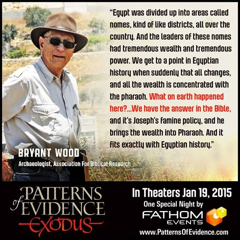 Patterns Of Evidence Exodus History Of Science Bible History
