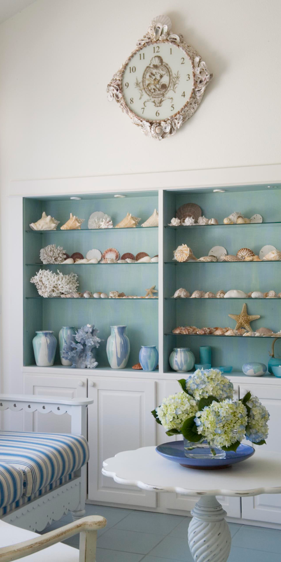 Arrange Shelves to Showcase Collections