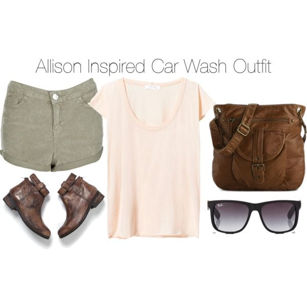 Allison Inspired Car Wash Outfit | Character Inspired Outfits ...