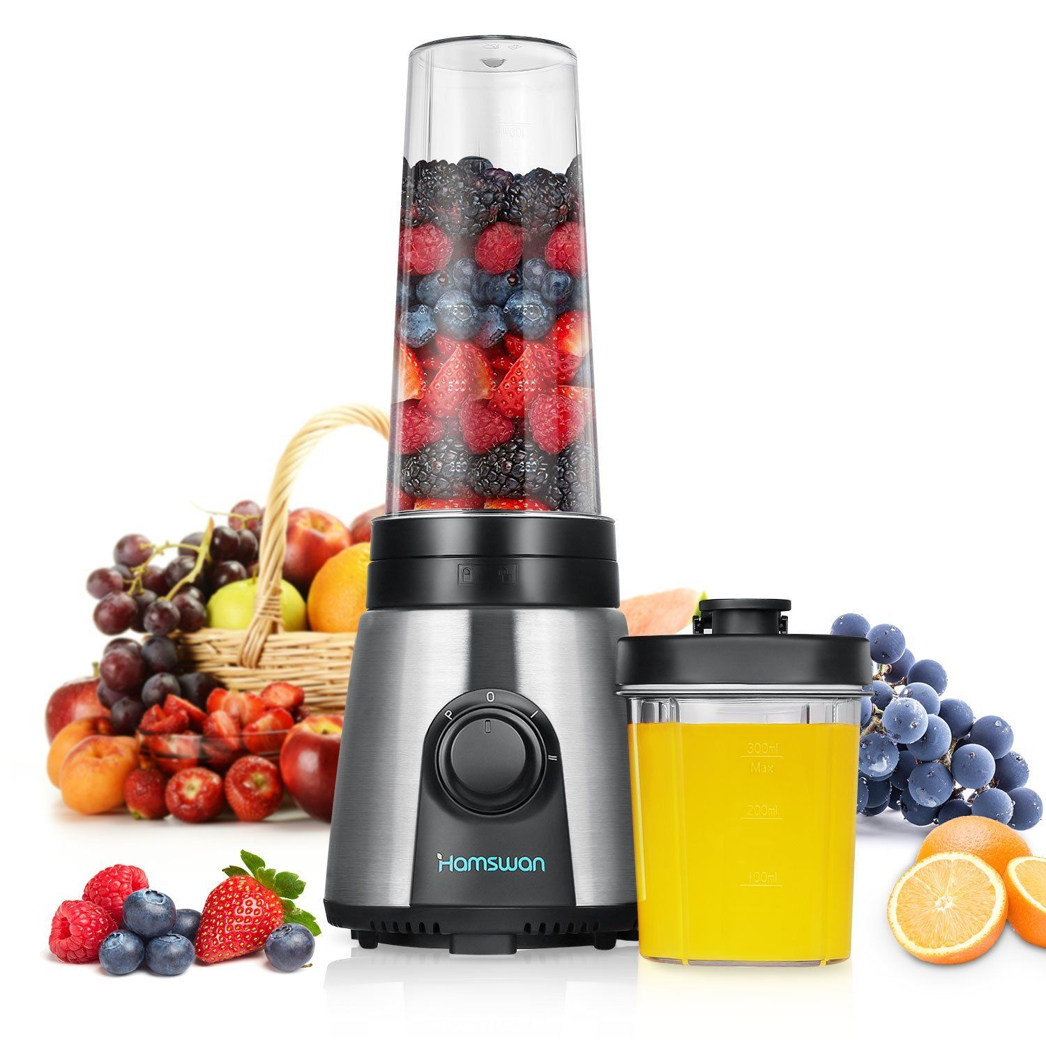 Amazon De Smoothie Mixer Hamswan Kp 1506 Mini Tragbare Mixer