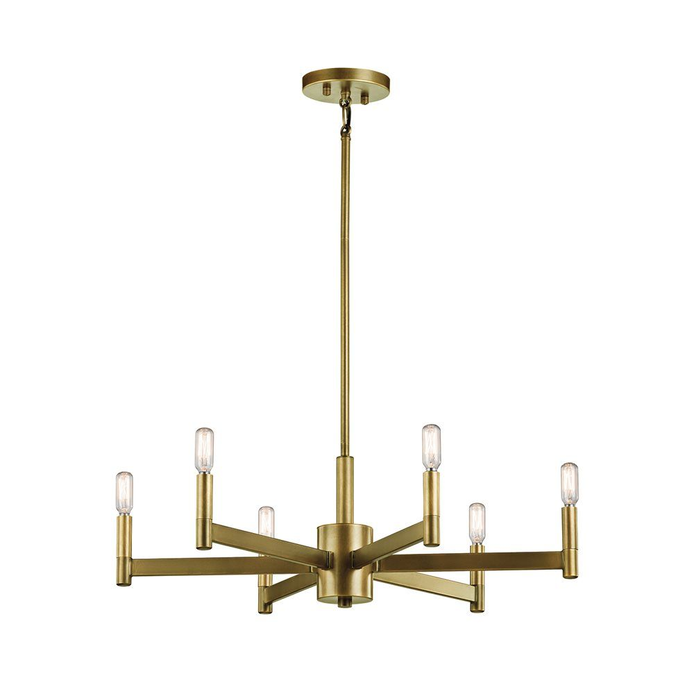 Shop kichler lighting 43859 erzo 6 light chandelier at the mine shop kichler lighting 43859 erzo 6 light chandelier at lowes canada find our selection of chandeliers at the lowest price guaranteed with price match arubaitofo Images