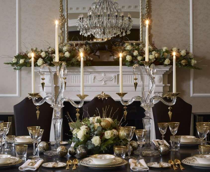 Idee per apparecchiare la tavola di natale una tavola natalizia chic ed elegante decori - Apparecchiare una tavola elegante ...
