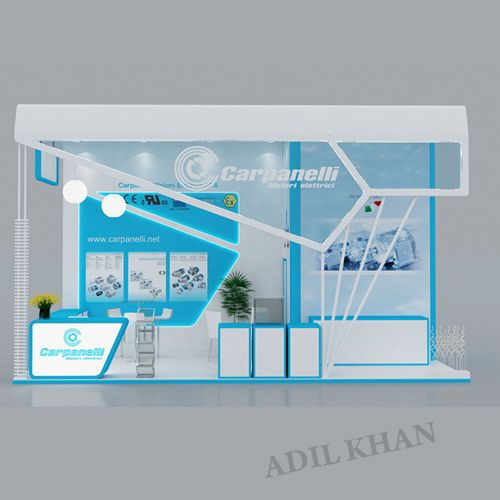 Exhibition Stall Design Coroflot : D stall design by adil khan at coroflot exhibition