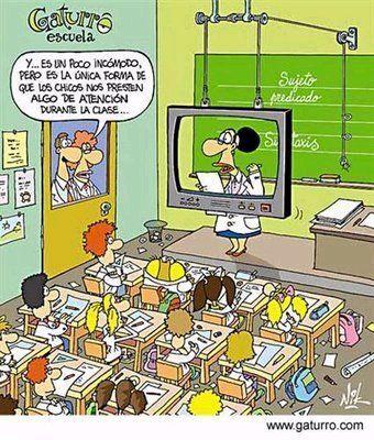 ¿La única forma de que los alumnos presten atención en clase?