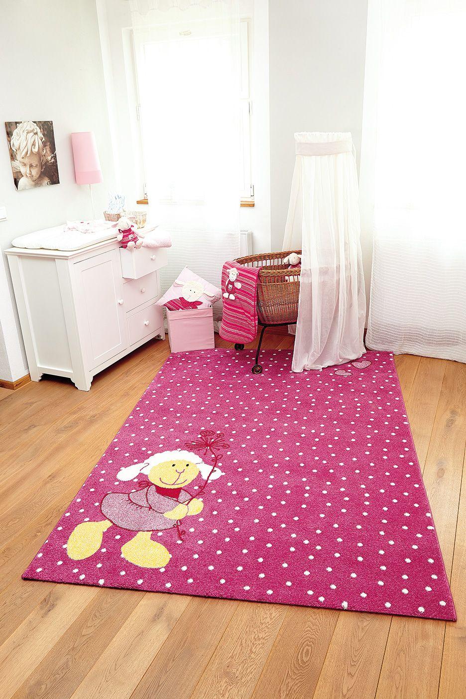 Traumhafter Teppich fürs Babyzimmer. Hier fühlen sich kleine ...