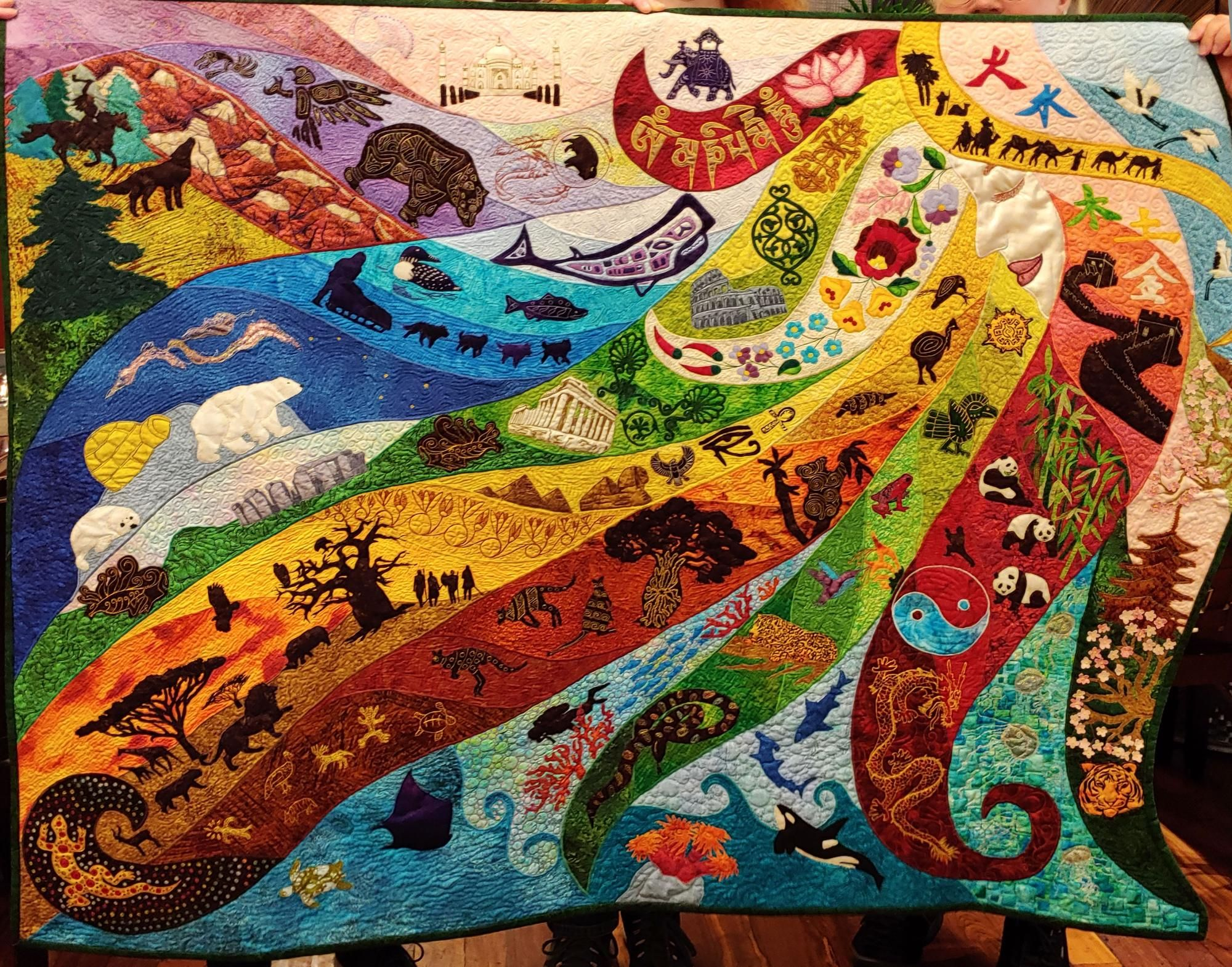 For The Love Of Gaia International Quilt Museum Lincoln Ne In 2020 Quilts Artwork Museum