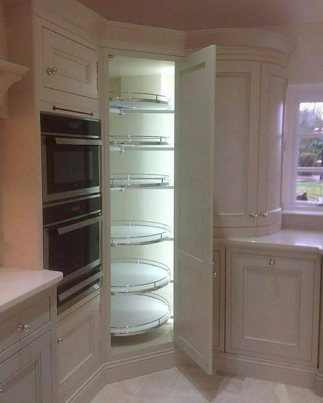 1 290 Curtidas 15 Comentarios عرض عقارتكم Decor Jojo2 No Instagram ارفف التخزين في المطبخ Cozinha Divertida Cozinha