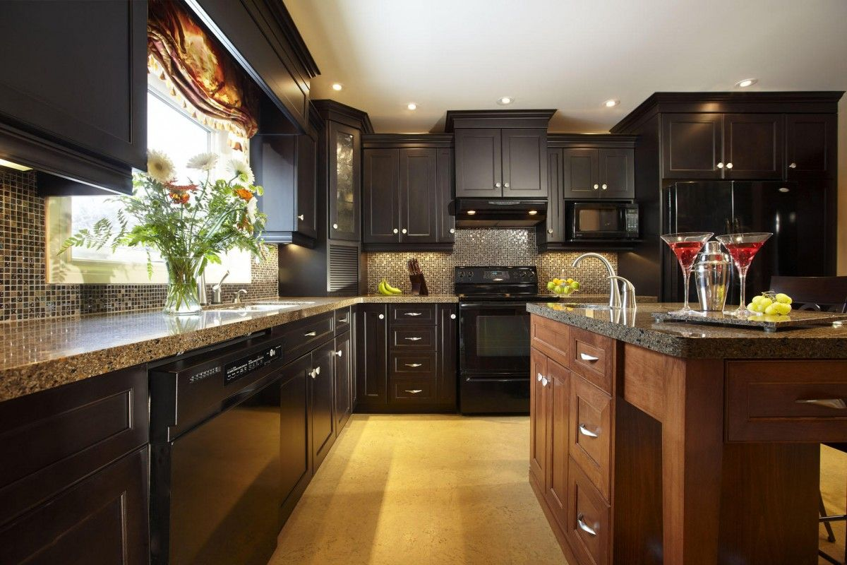 Dark Brown Kitchen Cabinets 17 Best Images About Kitchen Cabinet Colors On Pinterest Stains