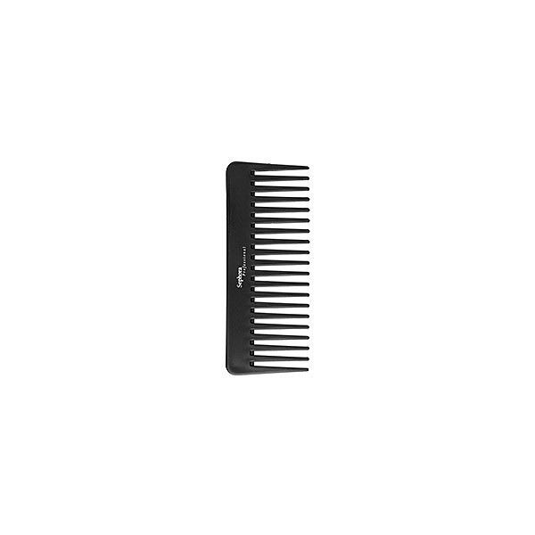 Sephora: Sephora Brand Wide Tooth Comb: Brushes & Combs ($4) ❤ liked on Polyvore featuring beauty products, fillers, beauty, black fillers, black en hair