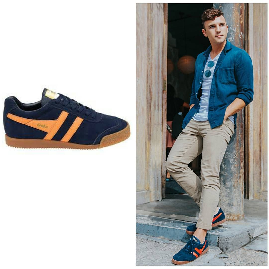 Gola Harrier trainers are king of retro