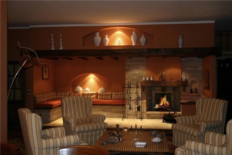 Camini rustici, lavorazione artigianale con pietre, mattoni e legno  CAMINI RUSTICI  Pinterest