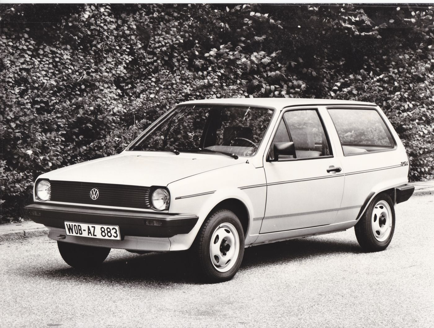 volkswagen polo fox 1985 car press photos volkswagen. Black Bedroom Furniture Sets. Home Design Ideas