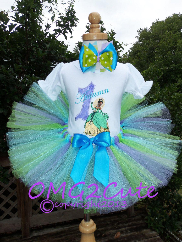 Princess Tiana Tutu Outfit | My Precious Princess Page☺ | Pinterest ...