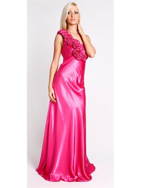 Hot Pink Semi Formal Dresses