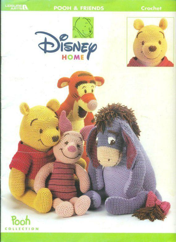 Disney WINNIE POOH and FRIENDS Thread CROCHET by PatternPeddler ...