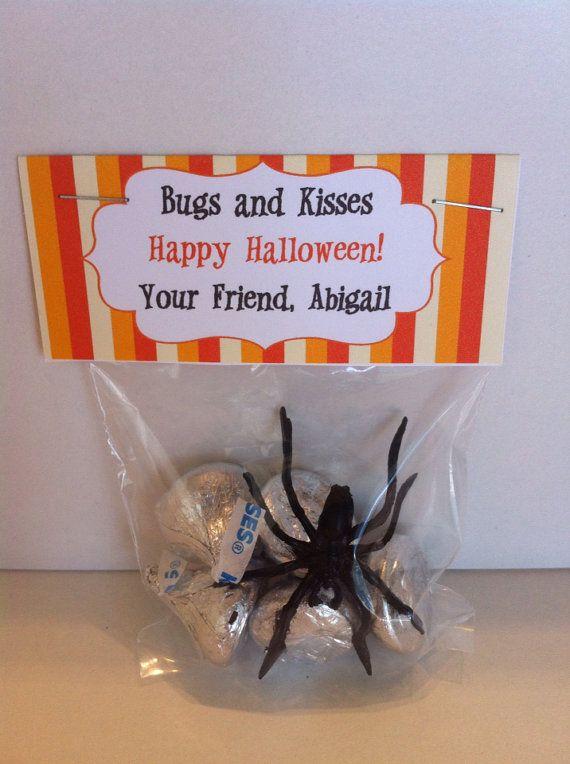Halloween Treat Bag Topper Printable File by SweetDesignsbyRegan - halloween gift bag ideas