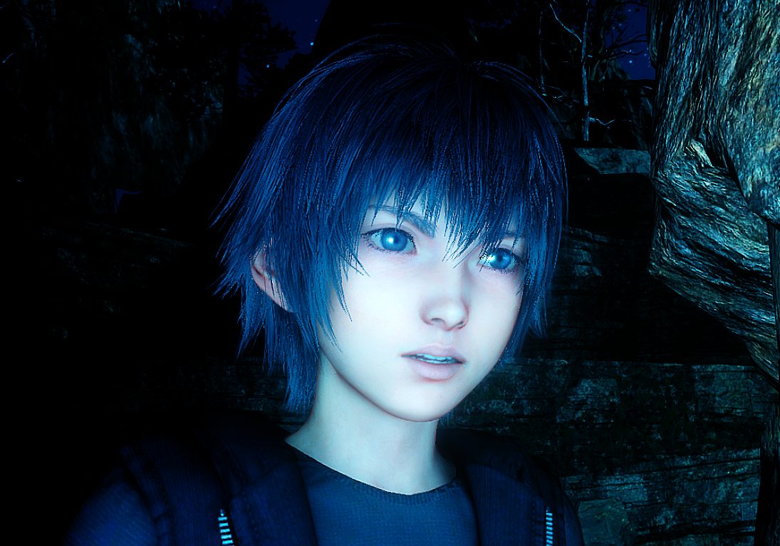 Young Noctis In Platinum Demo Final Fantasy Final