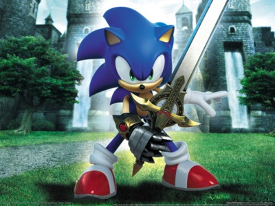 Sonic And The Black Knight Poster Sonic Blackest Knight Game Art