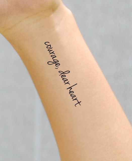 courage quotes tattoos - photo #17