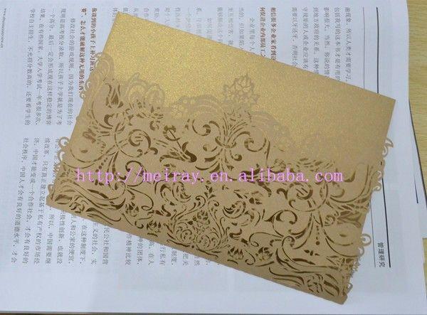 Original personalizado convites de casamento de corte de papel, Elegante e simples cartões para casamento em Decoração de festa de Casa & jardim no AliExpress.com | Alibaba Group